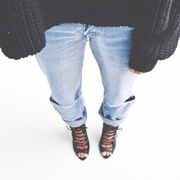 shoes black high heels jeans sweater heels black heels lace up heels black lace up heels zara zara shoes