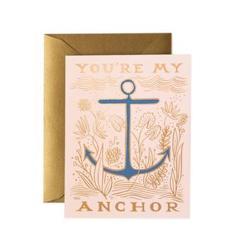 home accessory stationary mothers day gift idea love quotes anchor