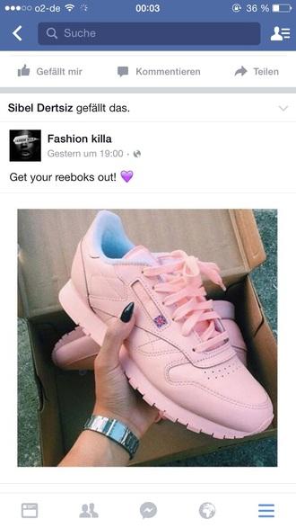 shoes reebok pinky in the brain