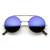 Django Sunglasses Steampunk Vintage Inspired Retro Round Circle Flip U                           | zeroUV