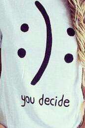 shirt,t-shirt,sad,rad,cool,tumblr,grunge,white,black dress,love,alone,cute,smile,aliexpress,braid,home accessory,home decor,stuffed animal