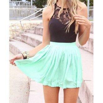 dress turquoise black summerdresses