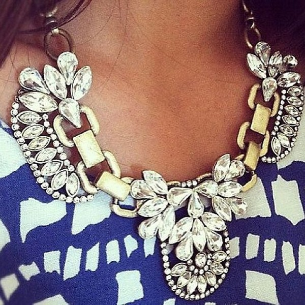 jewels necklace statement necklace jewelry fashion style stylish fblogger fashion blogger style blogger ootd wiwt
