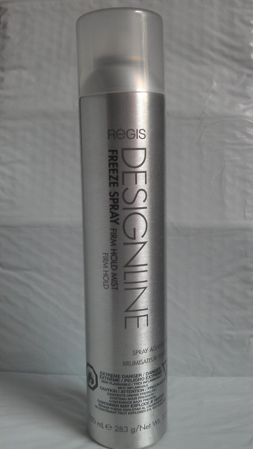 Amazon.com : Regis Designline FREEZE SPRAY Firm Hold Mist Firm Hold 10oz : Beauty