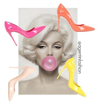 shoes dolce & gabbana pumps at lvr pumps heels summer summertime summer outfits candy coulorful candy color pastel pink pastel dolce and gabbana patent shoes