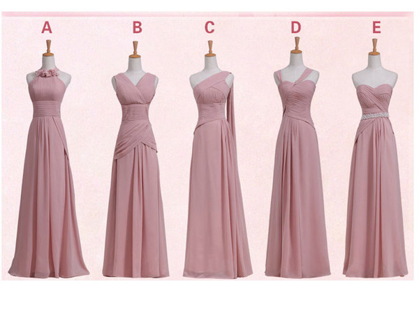 pink bridesmaid dresses bridesmaid long bridesmaid dress