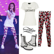 pants,leggings,jade thirlwall,clothes