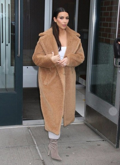 kim kardashian jacket celebrity
