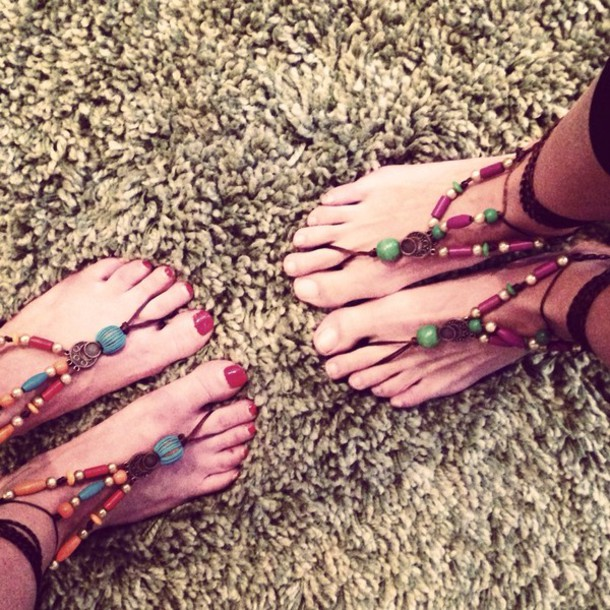 shoes love hippy