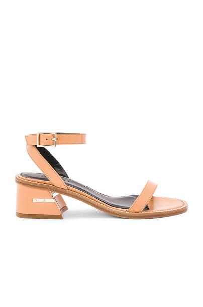 Tibi sandals tan shoes