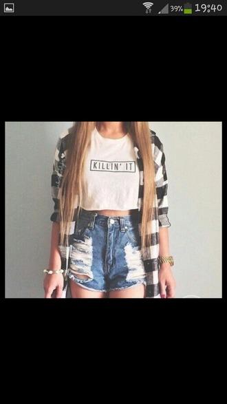 shorts blouse cardigan shirt