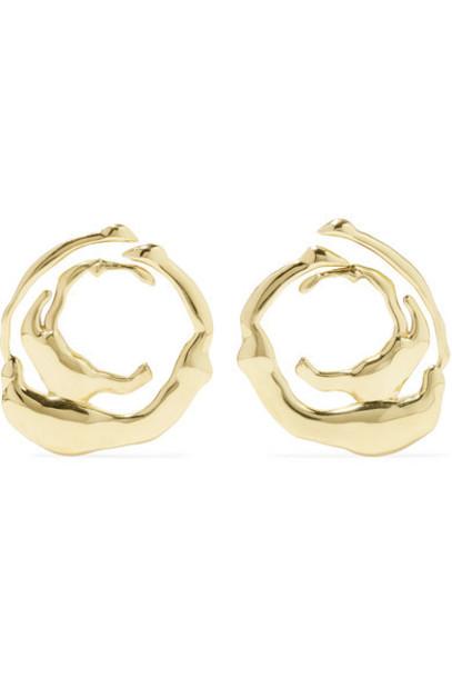 Ellery - Coutts Gold-tone Earrings