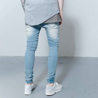 pants phoenix denim pants slim jeans denim streetwear menswear urban