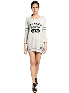 LUISAVIAROMA.COM - SUPERDRY - COTTON BLEND SDU GYM DRESS