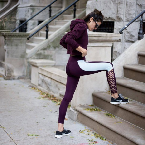 sale retailer 728ba 1deab leggings tumblr workout leggings sportswear sports leggings sports jacket  jacket sneakers nike nike shoes black sneakers