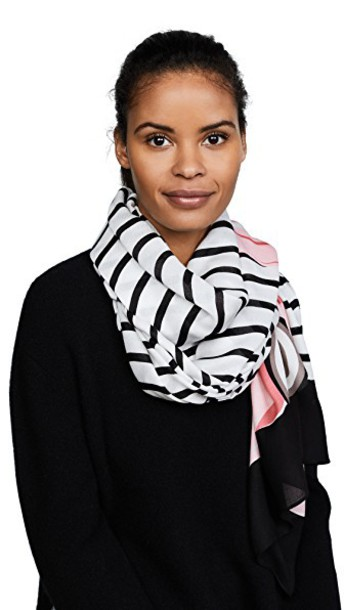 Kate Spade New York scarf black