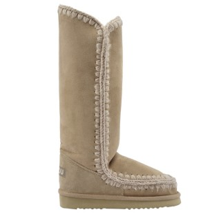 tall eskimo boots, sheep boots - mou footwear