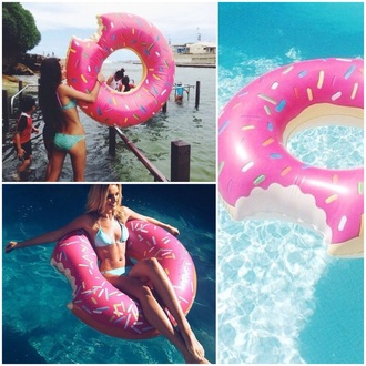 home accessory swimwear swim assessoires ring swim ring donut assessories