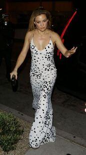 dress,maxi dress,kate hudson,summer dress,gown