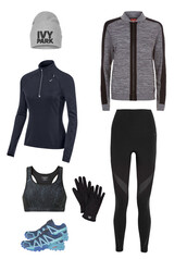 jacket,leggings,workout,running shoes,running tights,workout leggings,beanie,ivy park,sports bra