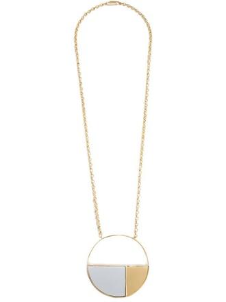 necklace yellow orange jewels