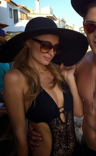 swimwear paris hilton