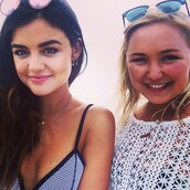 swimwear,bikini,lucy hale,pretty little liars