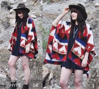 cardigan aztec sweater