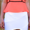 White mini skirt - bondage | ustrendy