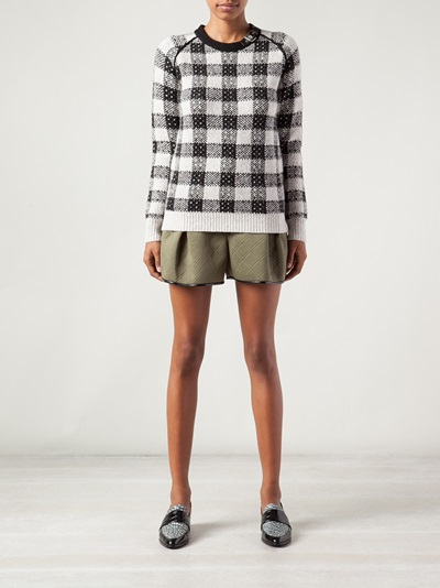 3.1 Phillip Lim Check Sweater - Knit Wit - Farfetch.com