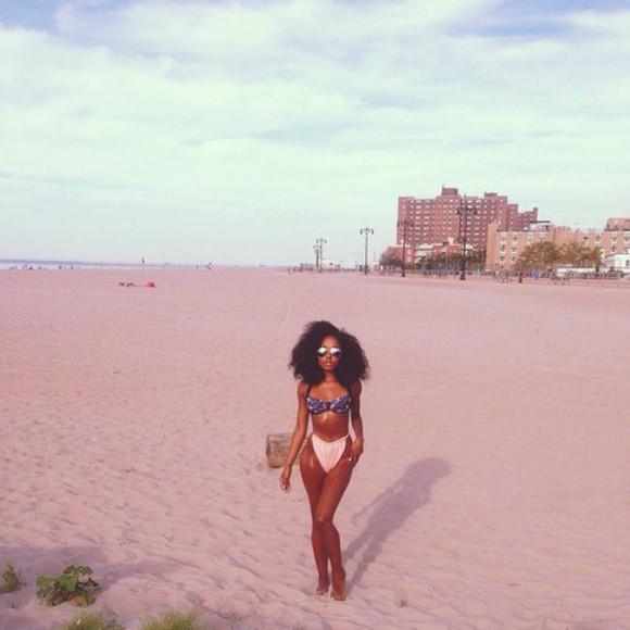 swimwear bikini bikini, coral pink, blue, bandeau