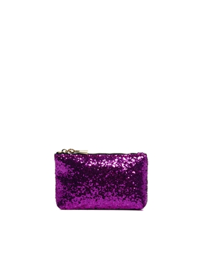 ASOS | ASOS Clear Clutch Bag With Internal Glitter Purse at ASOS