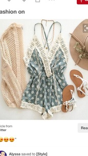 romper,sandals,crochet,cute romper,summer outfits,cardigan,strappy sandals,print rompers,rompers for women,boho,chic,need ,i need this help