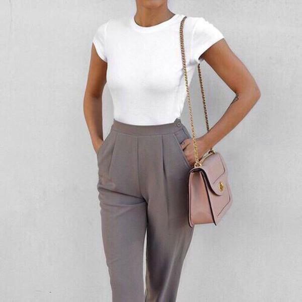 Lastest Khaki Pants Outfit Khaki Jeans Khakis Beige Pants White Keds White