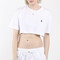 Polo crop tee | frankie collective