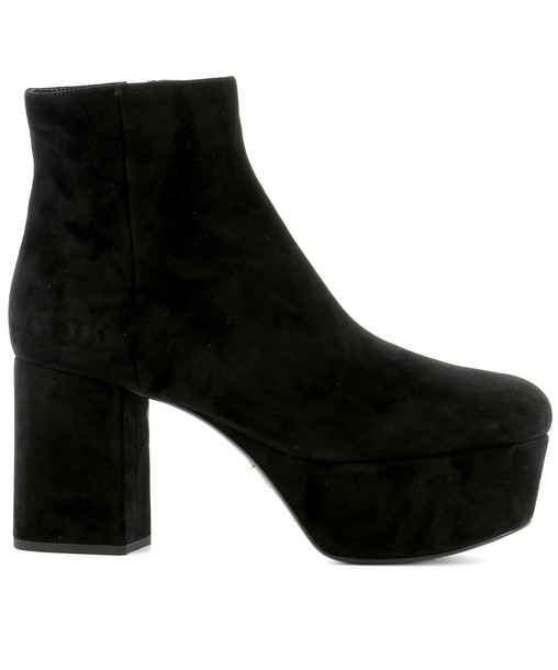 ankle boots suede black shoes
