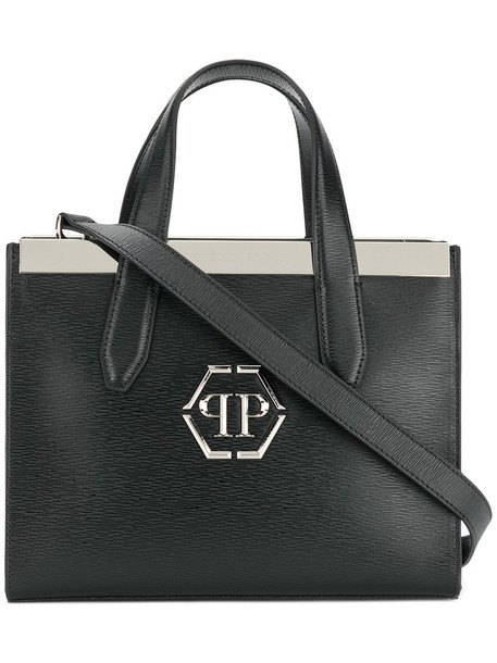 Philipp Plein - Erika tote - women - Calf Leather - One Size, Black, Calf Leather