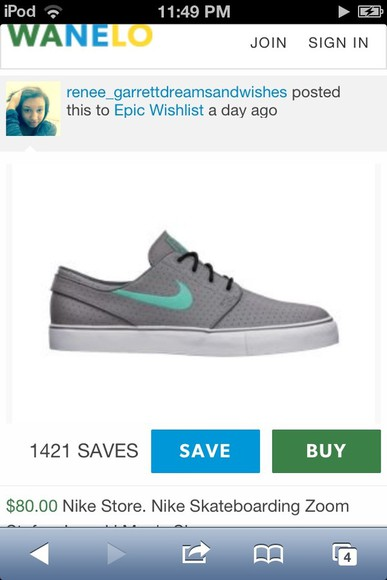 shoes grey grey shoes nike blue aqua skatershoes skater shoes