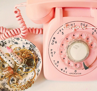 keiko lynn blogger home accessory pink jewels phone cover girly