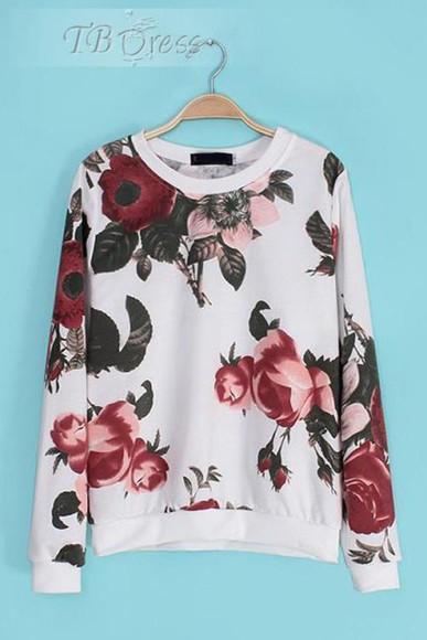 women tbdress-club tbdress floral floral hoodie fall outfits fall outfits fall outfits fasion