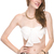 Sexy Chiffon Bow Tie Bandeau Sleeveless Tube Crop Belly Cut Off Half Top s M L | eBay