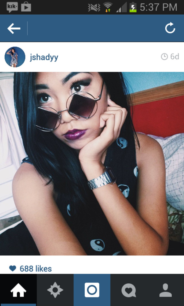 sunglasses tank top