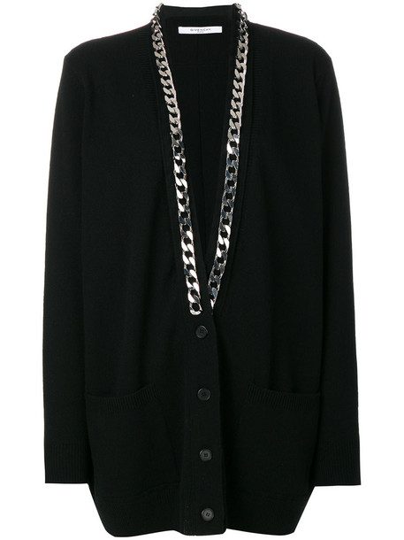 Givenchy cardigan cardigan women cotton black sweater