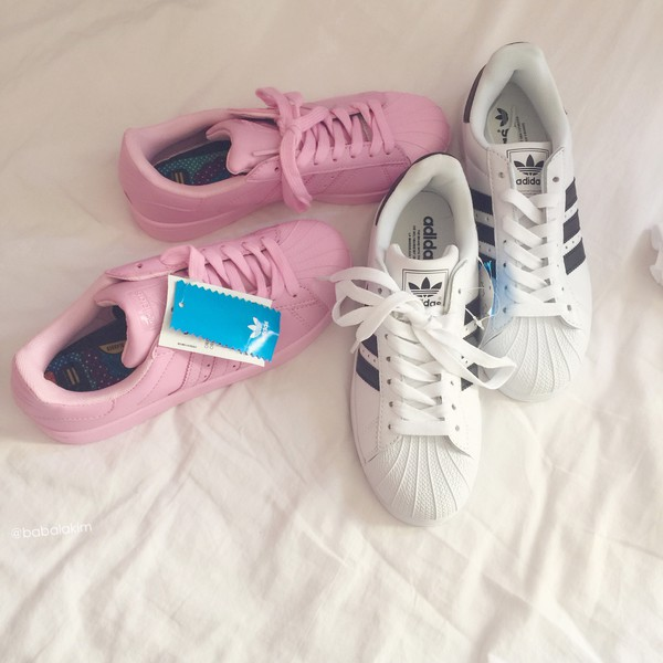 Adidas Superstar Foundation Pink