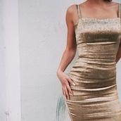dress,satin,details,bodycon,gold dress,long dress,shorts,expensive dress