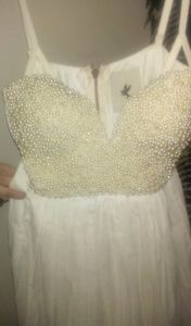One teaspoon size 10 pearl bustier women's party cocktail dress great condition