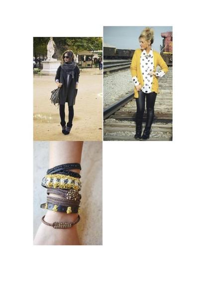 scarf scarve top bracelets