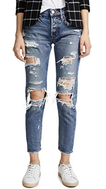 Moussy jeans blue