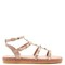 Torchon rockstud leather sandals