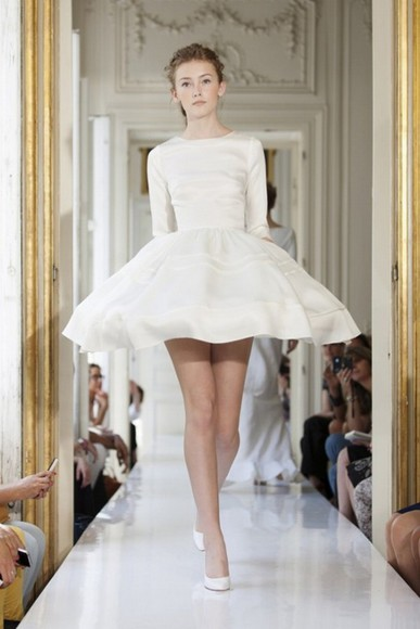 model runway haute couture fancy